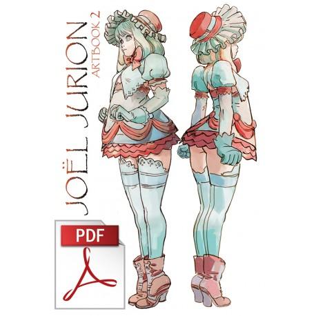 Joël Jurion Artbook 2 (numérique / digital version fr/en)