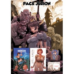Pack Jurion / cent pudeurs + 2 artbook